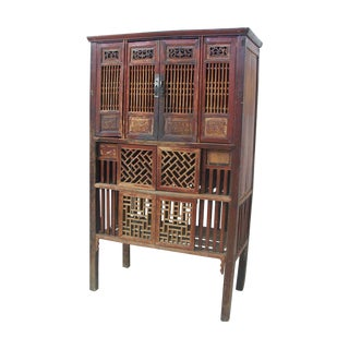 Antique Chinese Cabinet with Original Lacquer