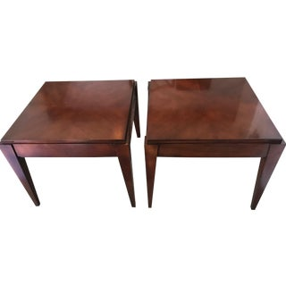 Robert A.M. Stern Architects For Hickory Side Tables - Pair