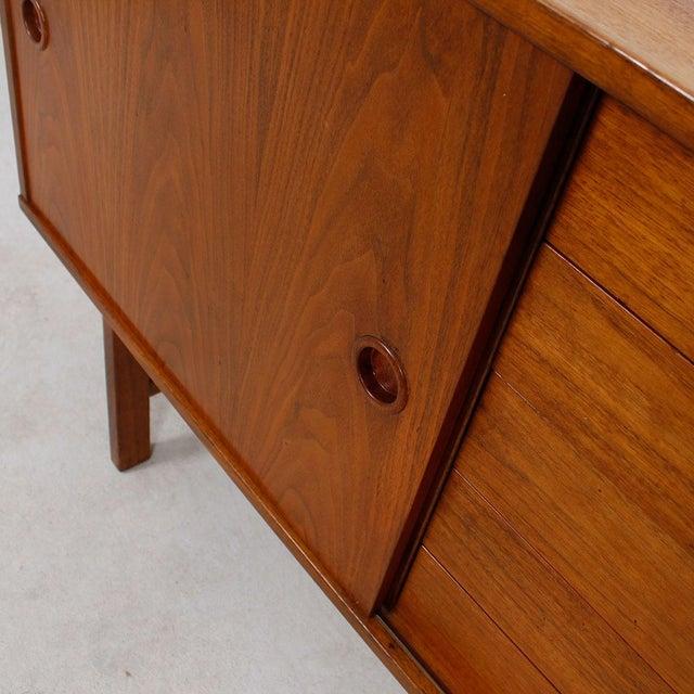 Image of Vintage Petite Danish Modern Teak Sideboard