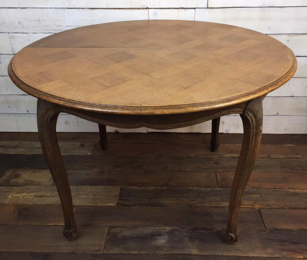 Vintage Chippendale Parquetry Oak Dining Table Extendable  : vintage chippendale parquetry oak dining table extendable 6285aspectfitampwidth640ampheight640 from www.chairish.com size 640 x 640 jpeg 47kB