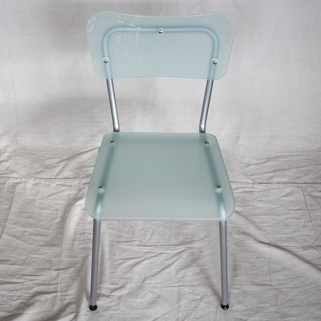 Tim Power for Zeritalia Glass Chip Chairs - A Pair - Image 3 of 10