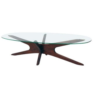 Adrian Pearsall Walnut Jacks Coffee Table