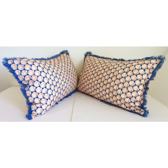 Liberty of London Lumbar Pillows - Pair - Image 3 of 6
