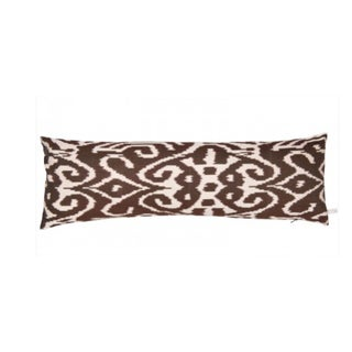 The Rug Company Silk Ikat & Feather Fill Pillow