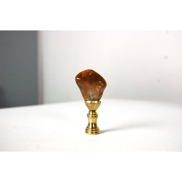 Image of Mid-Century Modern Pottery Table Lamp