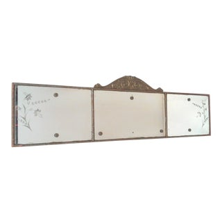 Antique Gold Buffet Mirror