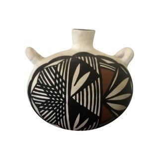 Southwestern Acoma Seed Pot by Nadine Mansfield