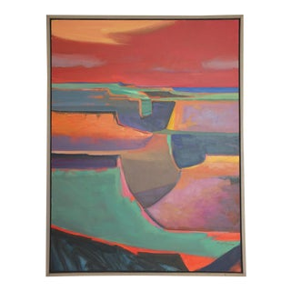 "Abstract Southwestern Landscape ""Twilight"", Jamie Chase"