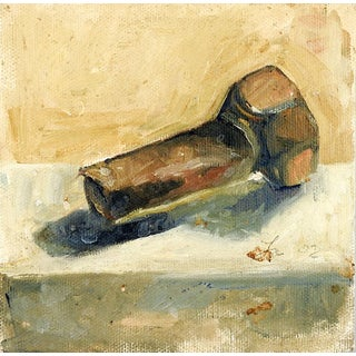 Industrial Still Life Bolt Painting