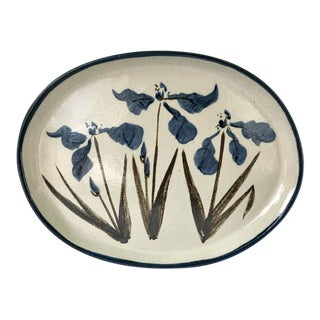 Vintage R. Brinker Handmade Stoneware Serving Platter