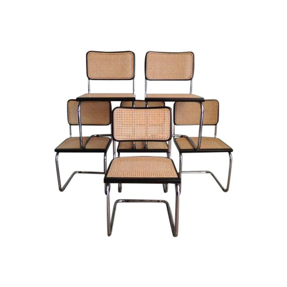 Marcel Breuer Reproduction Cesca Chairs - Set of 6 - Image 1 of 6