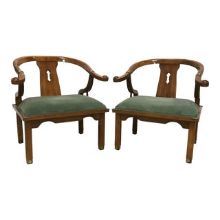 James Mont for Century Ming Style Chairs - a Pair