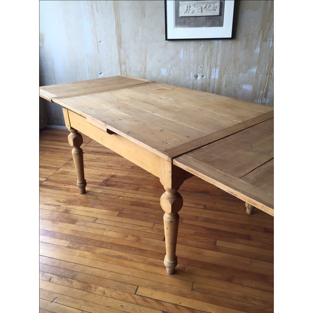 Rustic Italian Antique Dining Table - Image 7 of 9