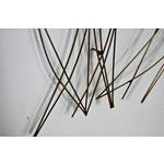 Image of C. Jere Gold Wheat Wall Sculpture