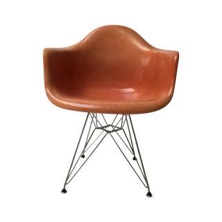 Vintage Eames Fiberglass Armchair