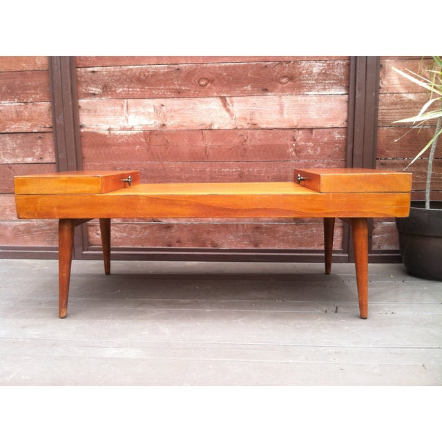 Vintage Rock-Ola Coffee Table / Game Table - Image 4 of 11