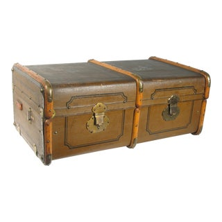 Antique English Travel Trunk