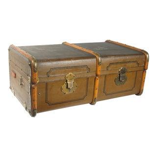 Antique English Travel Trunk