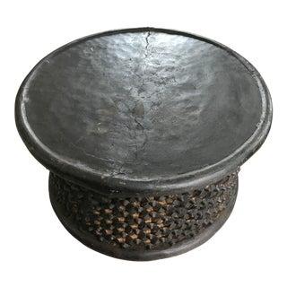 Black Bamileke Coffee Table