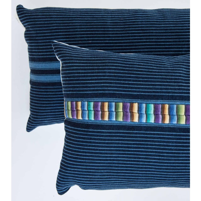 Vintage Indigo Ronda Pillow - Image 3 of 7
