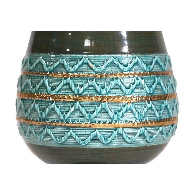 Mid-Century Italian Ceramic Pottery Vase - Image 4 of 5