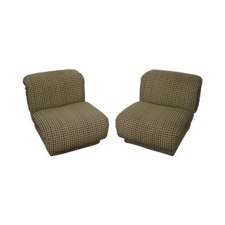 Cy Mann Designs Upholstered Loop Chairs - A Pair