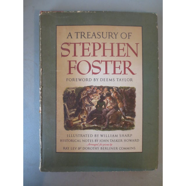 A Treasury of Stephen Foster, 1946 1st Edition - Image 2 of 7
