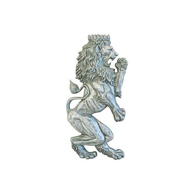 Mid-Century Architectural Lion Plaque - Image 1 of 7