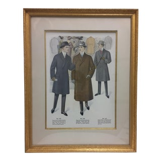 Framed Antique Clothing Line Print, 14 of 14