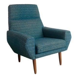 Mid-Century Danish High Back Lounge Chair