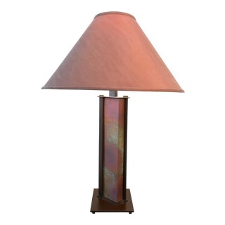 Hubberdton Forge Lighting Vermont Aged Copper Table Lamp