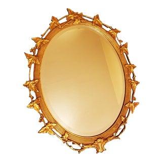 Friedman Brothers Leaf Trellis Mirror
