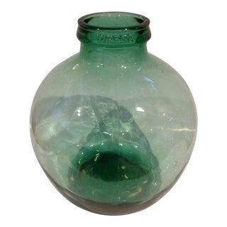 Vintage Viresa Green Demijohn or Carboy