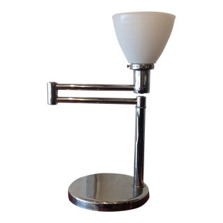 Walter Von Nessen Swing Arm Table Lamp