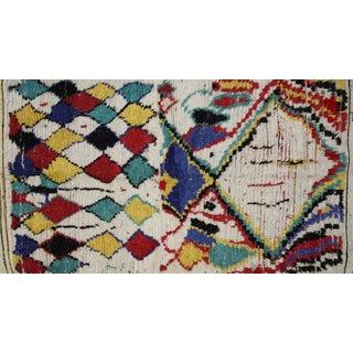 Vintage Berber Moroccan Azilal Rug - 3'5 x 5'4
