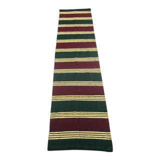 Vintage Turkish Kilim Runner - 2′ × 8′6″
