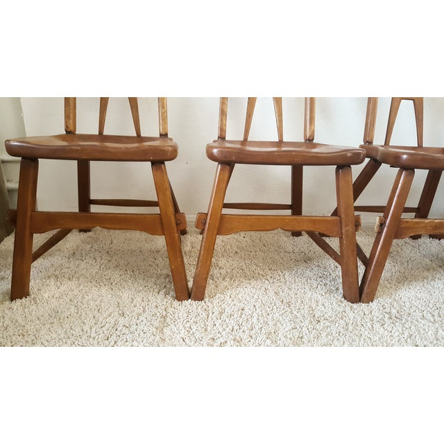Image of Sikes Furniture Chairs From 1939 - Set of 4