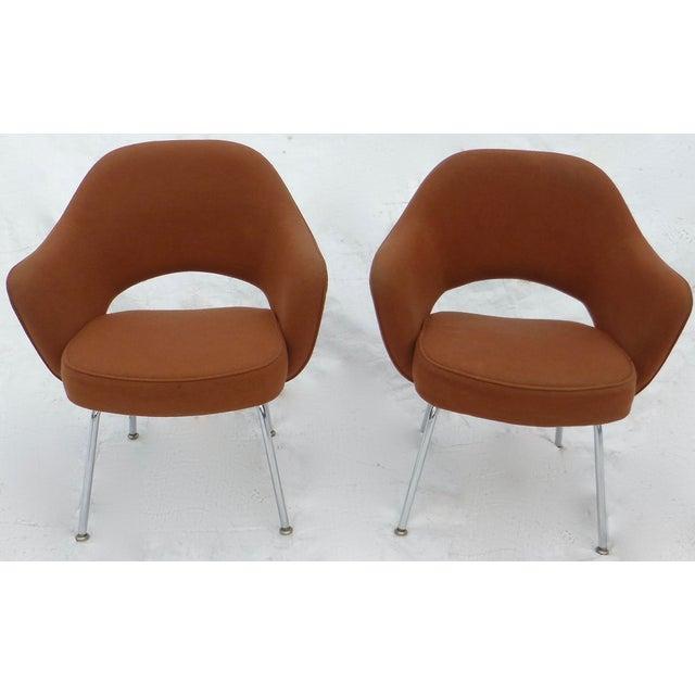 Image of Eero Saarinen for Knoll Executive Armchairs - Pair