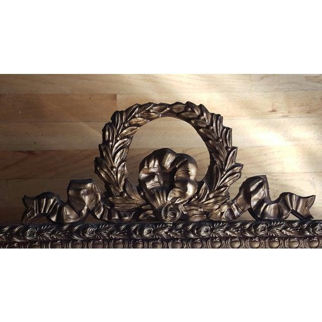 Louis XVI Style Gold Gilt Mirror - Image 5 of 6
