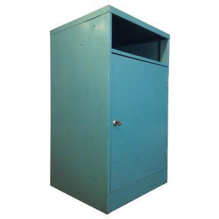 Industrial Green Steel Cabinet