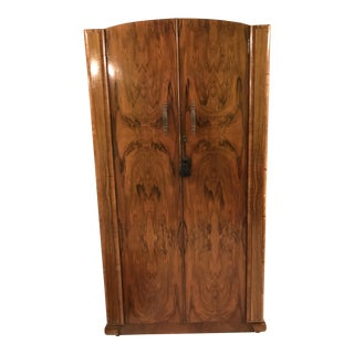 Circa 1930 Walnut Wardrobe