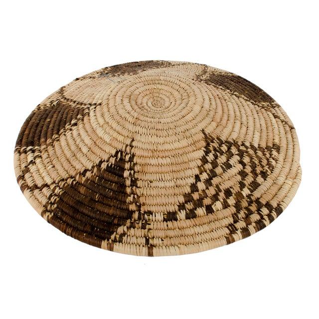 Image of Vintage Coiled Star Basket