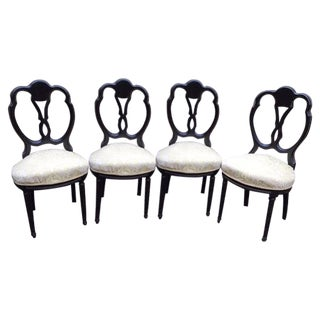 Louis XVI Dining Room Chair - Set of 4