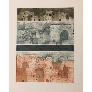 """Cheryl/Justine Wolfson """"Pueblo"""" Print"""