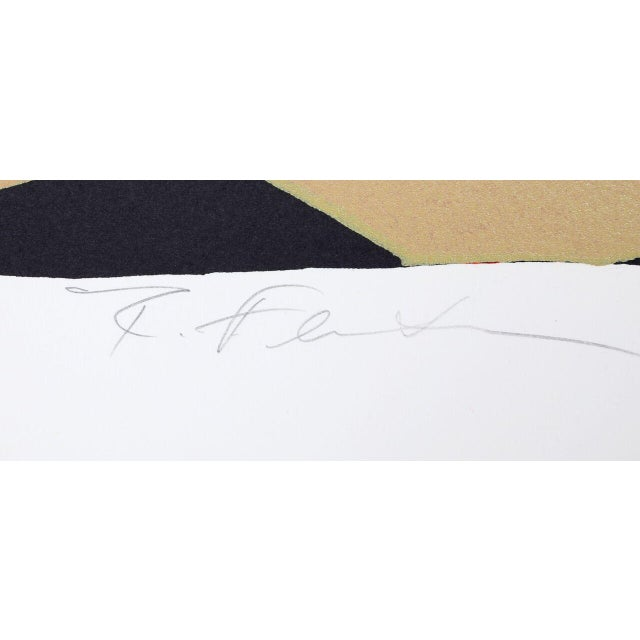 """R. Feinstein, """"Able Baker,"""" Lithograph - Image 2 of 2"""