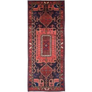 "Vintage Persian Koliai Rug- 4'3"" x 10'10"""