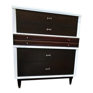 Mid-Century Huntley Tall Chest of Drawers