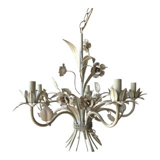 French Tole Chandelier
