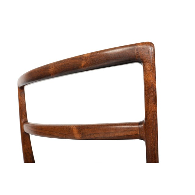 Harry Østergaar Rosewood Dining Chairs - Set of 6 - Image 6 of 10