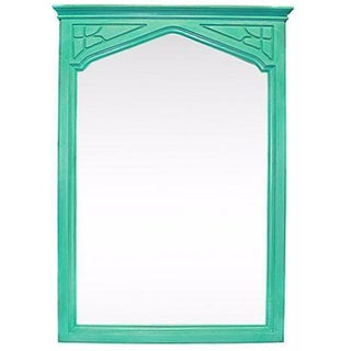 Hand Painted Arts & Crafts Mirror